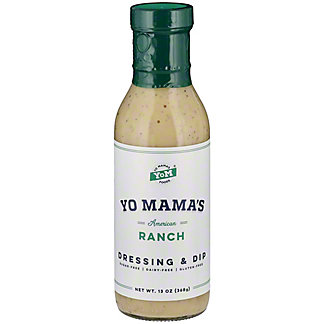 Yo Mamas Ranch Dressing, 13 oz