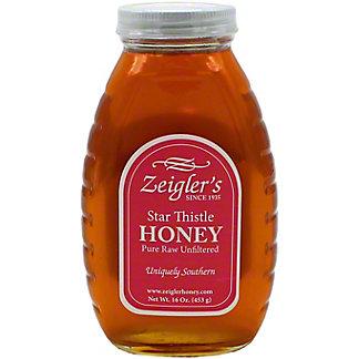 Zeigler's Star Thistle Honey, 16 oz