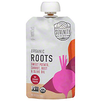 Serenity Kids Organic Sweet Potato Carrot Beet & Olive Oil, 3.5 oz