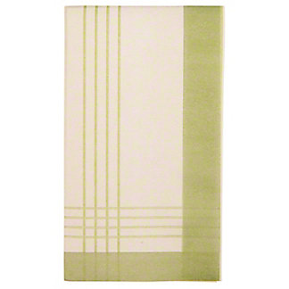 Sophistiplate Guest Towel Sage, ea