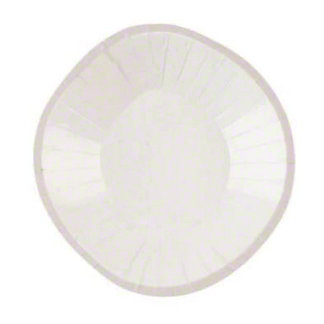 Sophistiplate Cream Dinner Plate , ea