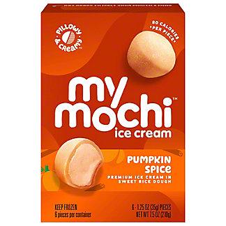 My/Mo Mochi Ice Cream Pumpkin Spice, 6 pk