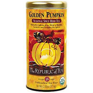 The Republic of Tea Golden Pumpkin Herb Tea, 32 ct