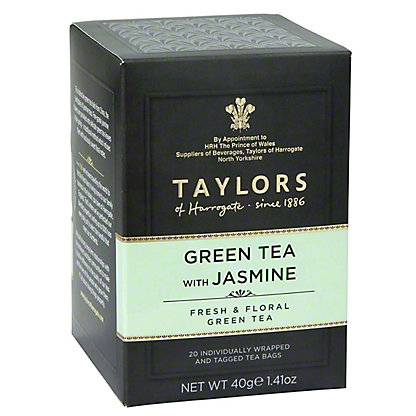 Taylors Of Harrogate Green Tea Wit Jasmine, 3.53 oz