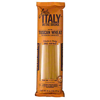 Little Italy In The Bronx Angel Hair Pasta, 16 oz