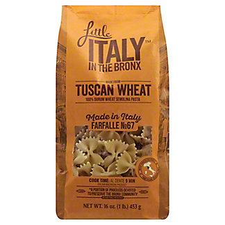 Little Italy In The Bronx Tuscan Wheat Farfalle Pasta, 16 oz