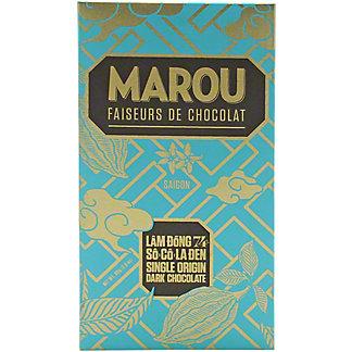 Marou Lam Dong Single Origin74%Dark Chocolate Bar, 3.5 oz