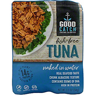 Good Catch Naked In Water Fish-Free Tuna, 3.30 oz