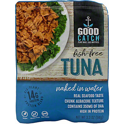 Good Catch Naked In Water Fish-Free Tuna , 3.30 oz