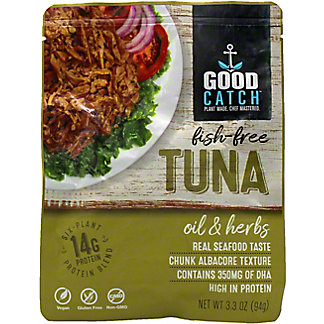 Good Catch Oil & Herbs Fish-Free Tuna , 3.30 oz