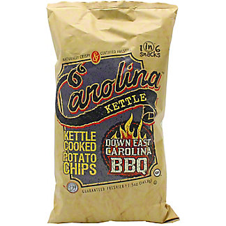 Carolina Kettle Down East Carolina BBQ Potato Chips, 5 oz