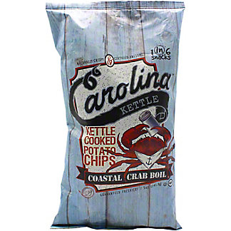 Carolina Kettle Coastal Crab Boil Potato Chips , 5 oz