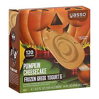 Yasso Pumpkin Cheesecake Bars, 4 ct