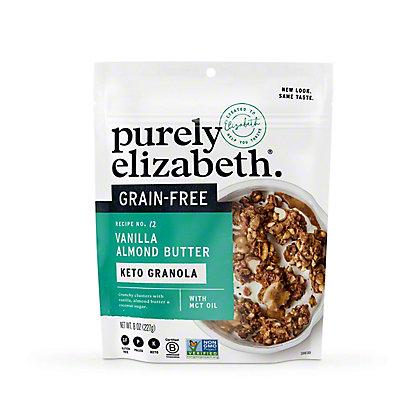 Purely Elizabeth Vanilla Almond Butter Grain-Free Granola, 8 oz