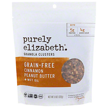 Purely Elizabeth Cinnamon Peanut Butter Grain-Free Granola, 8 oz