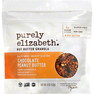 Purely Elizabeth Chocolate Peanut Butter Granola , 4 oz