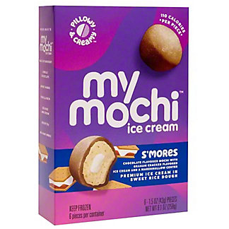 My/Mo S'mores Mochi Ice Cream, 6 ct