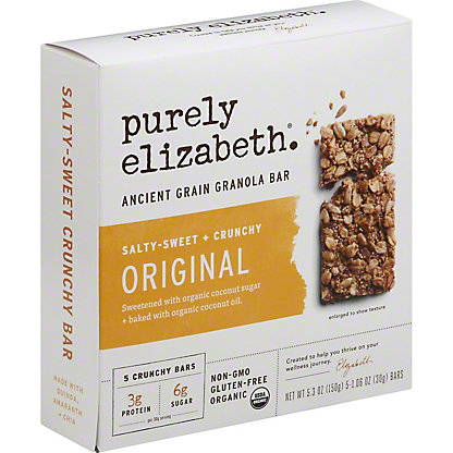Purely Elizabeth Original Ancient Grain Granola Bar, 5 ct, 1.06 oz ea