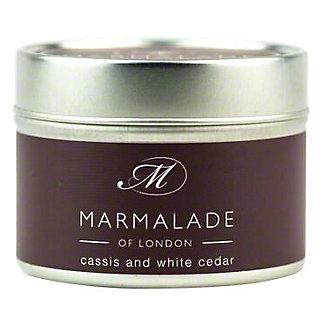 Marmalade Of London Candle Cassis & White Cedar Small, 4 oz