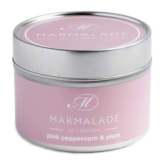 Marmalade Of London Candle Pink Pepper & Plum Small, 4 oz