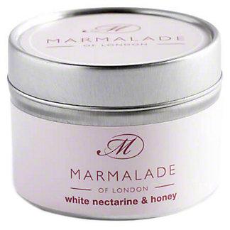 Marmalade Of London Candle Nectarine & Honey Small, 4 oz