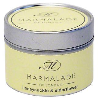 Marmalade Of London Honeysuckle Elderflower Candle Small, 4 oz