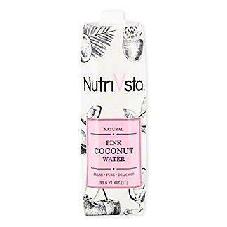 Nutrivsta Pink Coconut Water, 33.8 oz