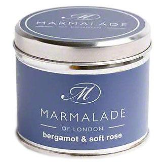 Marmalade Of London Candle Bergamot & Soft Rose Medium, 7 oz