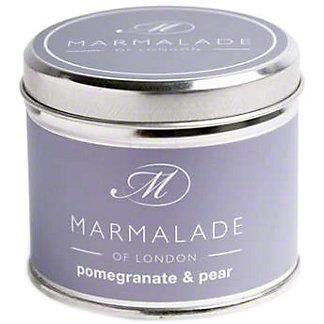 Marmalade Of London Candle Pomegranate & Pear Medium, 7 oz