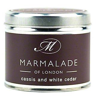 Marmalade Of London Candle Cassis White Cedar Medium, 7 oz