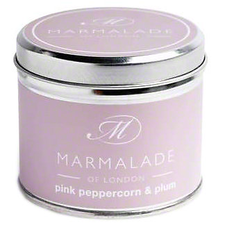 Marmalade Of London Candle Pink Pepper & Plum Medium , 7 oz