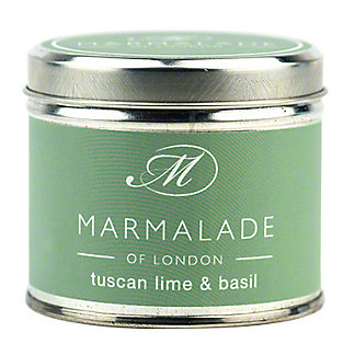Marmalade Of London Candle Tuscan Lime Basil Medium, 7 oz