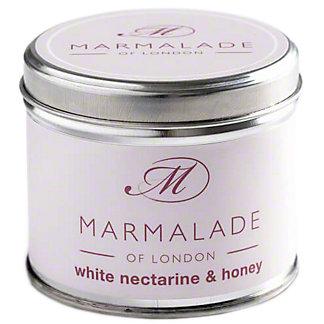 Marmalade Of London Candle Nectarin & Honey Medium, 7 oz