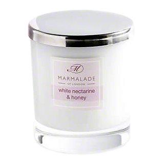 Marmalade Of London Candle Nectarine & Honey Large 50HR, 8 oz