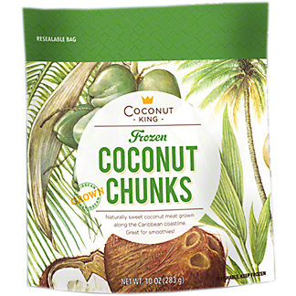Coconut King Coconut Chunks, 10 oz
