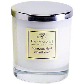 Marmalade Of London Honeysuckle Elderflower Candle Large, 8 oz