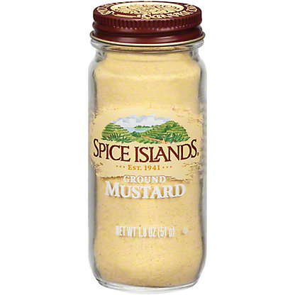 Spice Islands Ground Mustard , 1.8 oz
