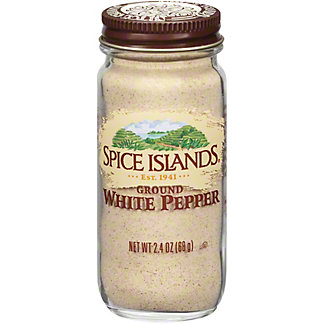 Spice Islands Ground White Pepper , 2.4 oz
