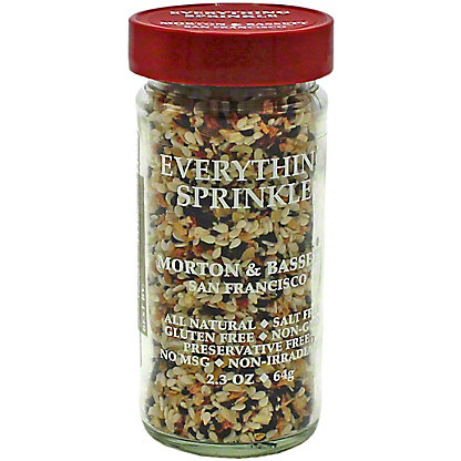 Morton & Bassett Everything Sprinkle Seasoning, 2.30 oz