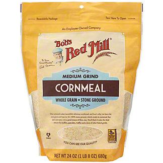 Bob's Red Mill Medium Grind Cornmeal, 24 oz