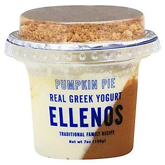 Ellenos Pumpkin Greek Yogurt, 7 oz