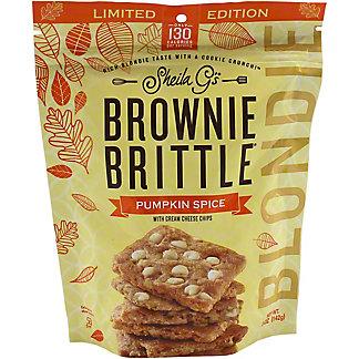 Sheila G's Pumpkin Spice Blondie Brownie Brittle, 5 oz