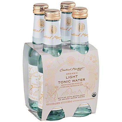 Central Market Organic Light Tonic Water 6.8 oz Bottles, 4 pk