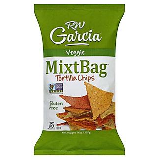 RW Garcia MixtBag Veggie & White Corn Chip, 14 oz