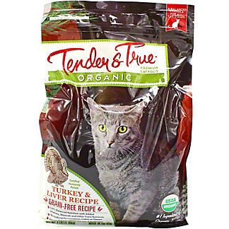 Tender & True Organic Turkey & Liver Cat Food, 3 lb