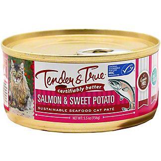 Tender & True Salmon & Sweet Potato Cat Food, 5.5 oz