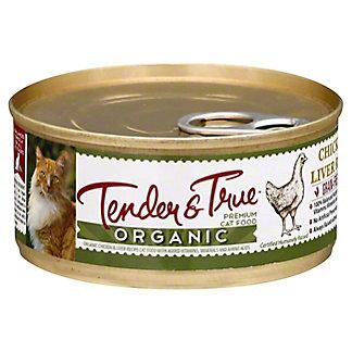 Tender & True Organic Chicken & Liver Cat Food, 5.5 oz