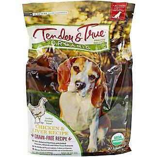Tender & True Organic Chicken & Liver Dog Food, 4 lb