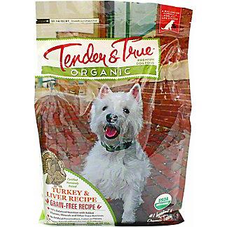 Tender & True Organic Turkey & Liver Dog Food, 4 lb