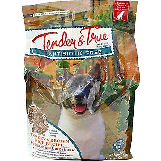 Tender & True Antibiotic Free Turkey & Brown Rice Dog Food, 4 lb